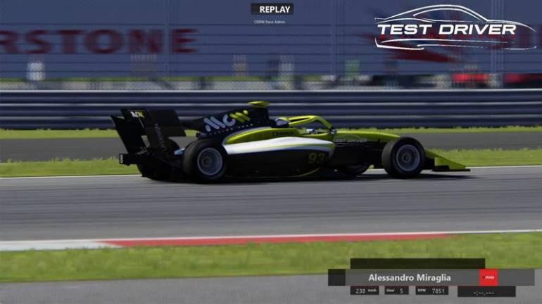 A Silverstone con Test Driver c'è Alessandro Miraglia