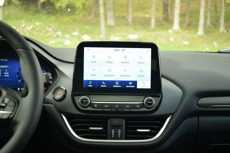 Schermo touchscreen da 8 pollici