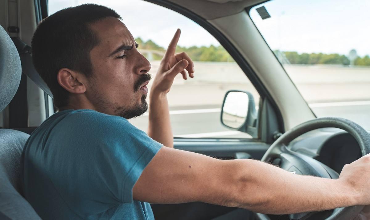 Cantare in auto durante la guida