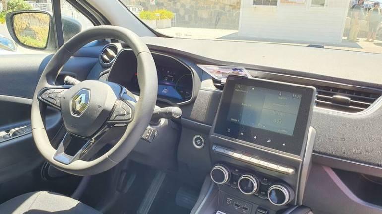 Interno Renault Zoe