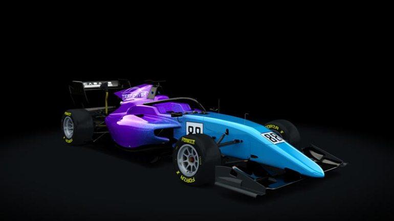Secondo skin pack Test driver Formula RSS 3 v6 skin 03