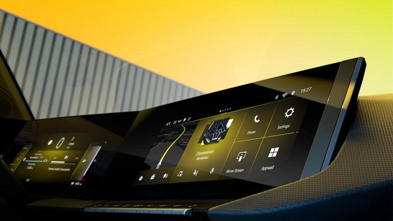 dettaglio Pure Panel nuova Opel Astra 2021