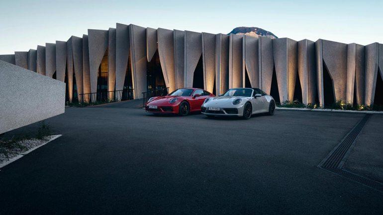 nuove Porsche 911 GTS