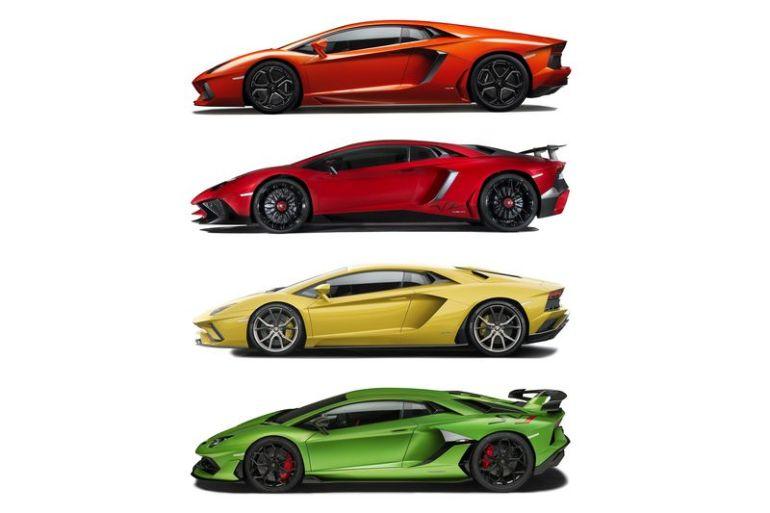 Modelli e storia Lamborghini Aventador