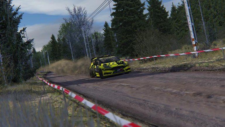 Ford Fiesta WRC 2015 su Forest Rally per Assetto Corsa
