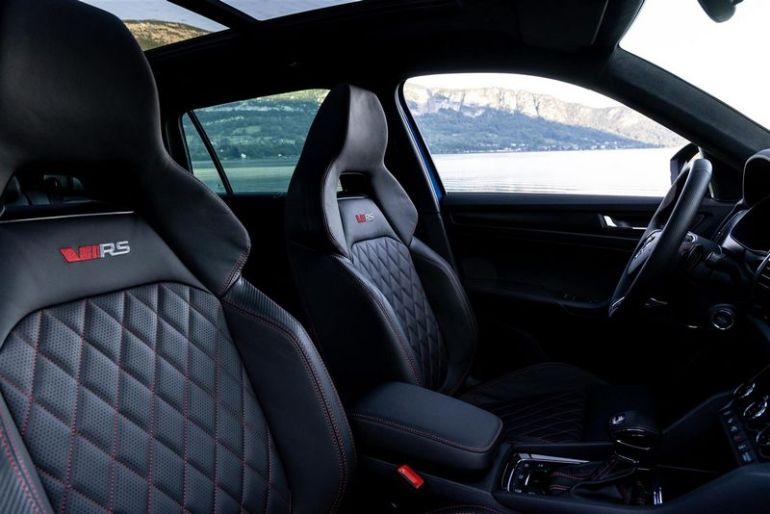Interni e sedili Kodiaq RS 2021