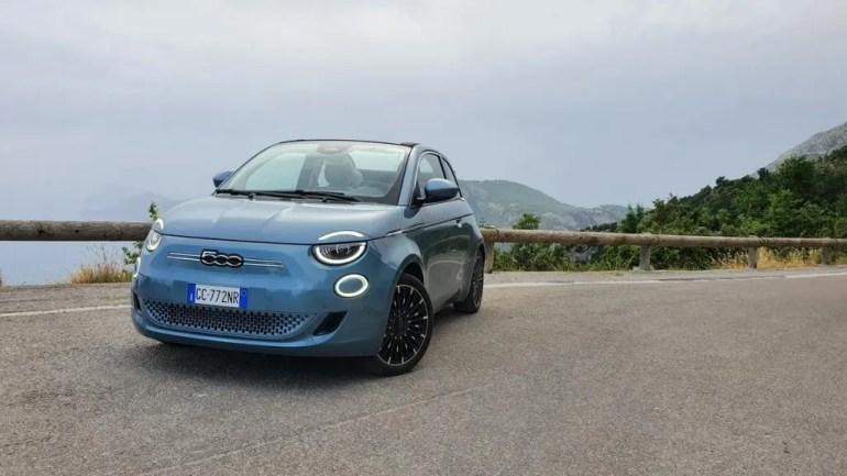 Prova su strada Fiat 500