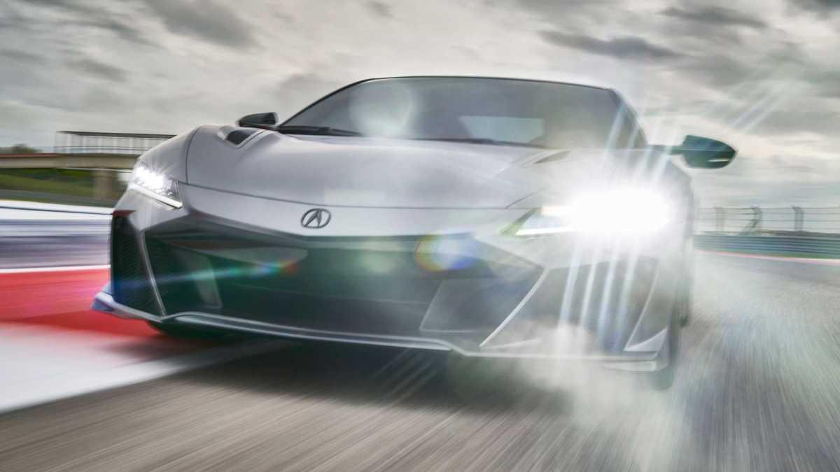 nuova Honda NSX Type S Acura NSX