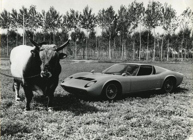 Lamborghini Miura auto più bassa del mondo