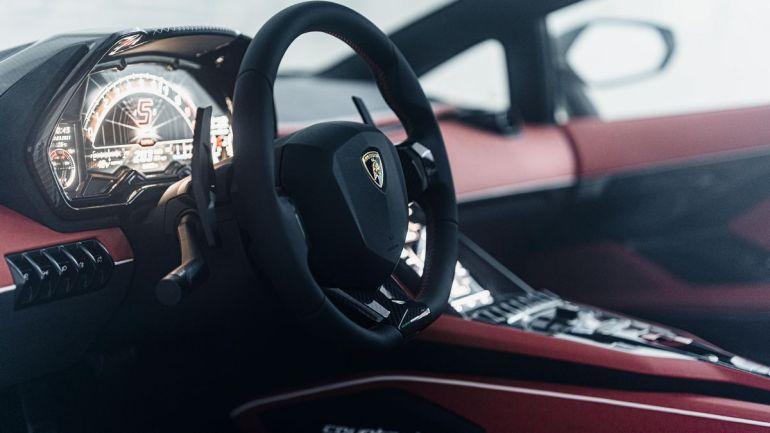Interni Lamborghini Countach 2022