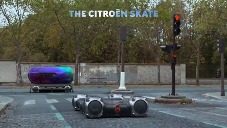 Citroen Skate con ruote asfera