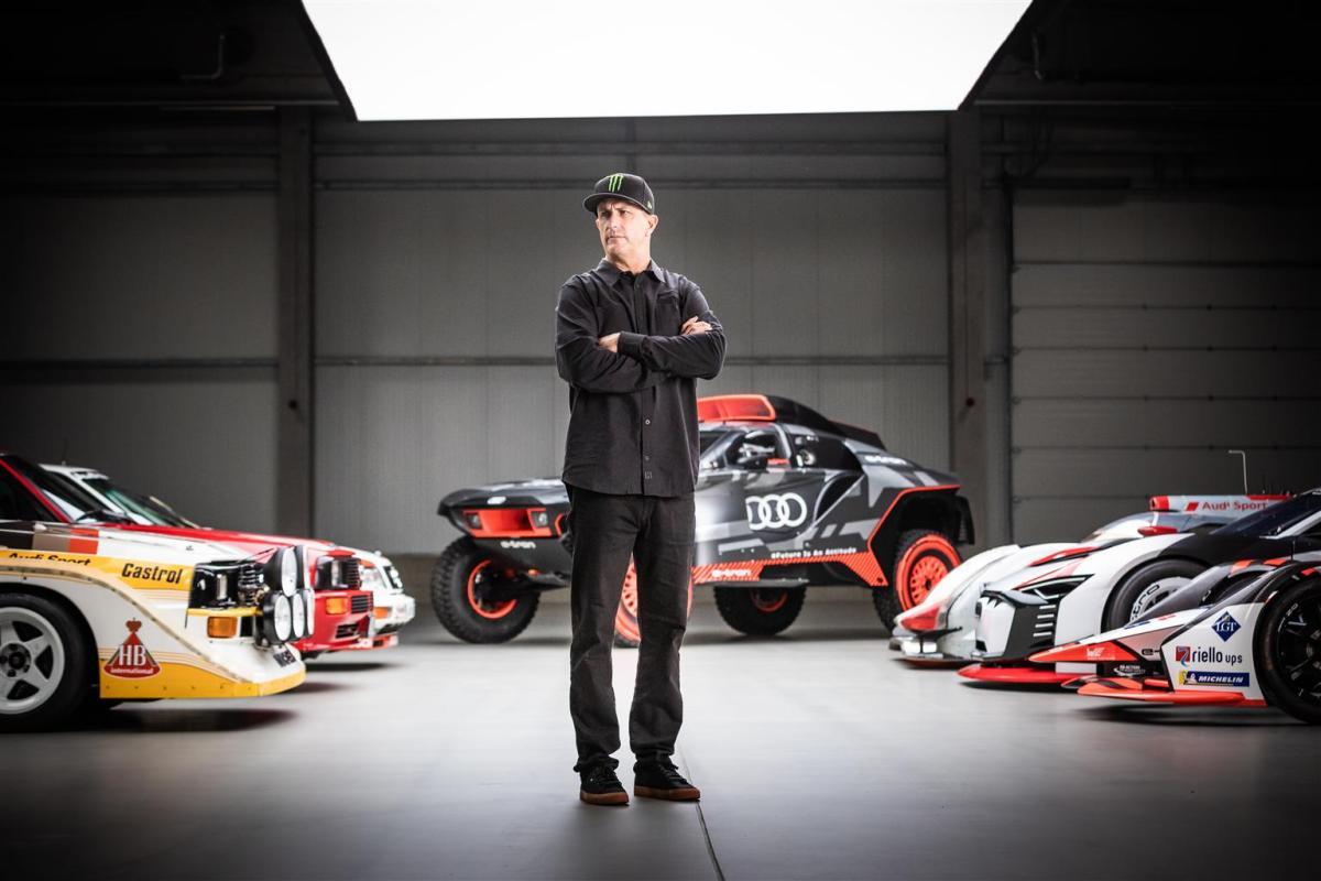 Nasce la partnership tra Audi e Ken Block