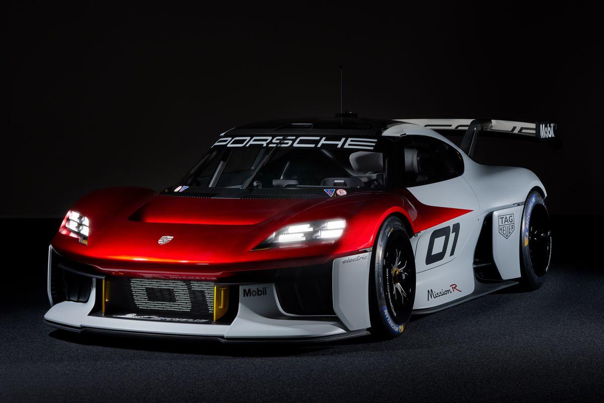 Nuovo concept Porsche Mission R