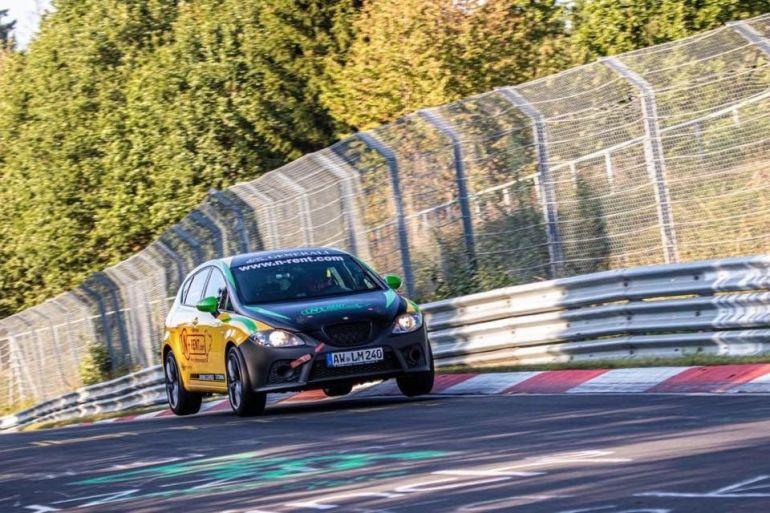 Seat Leon Cupra noleggio Nurburgring