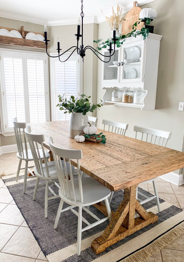 Kitchen Eating Area Refresh With Overstock- Phase 1