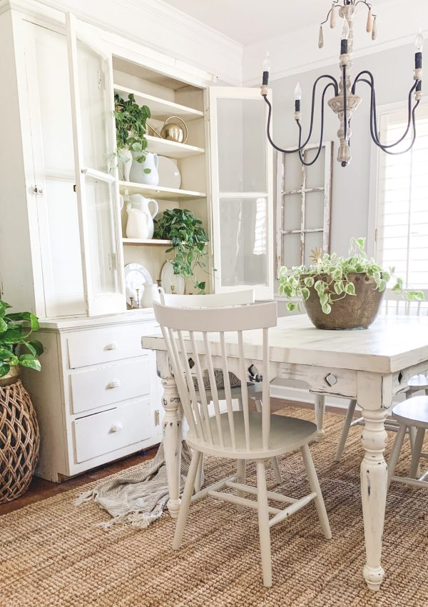 Simple Spring Dining Room Tour
