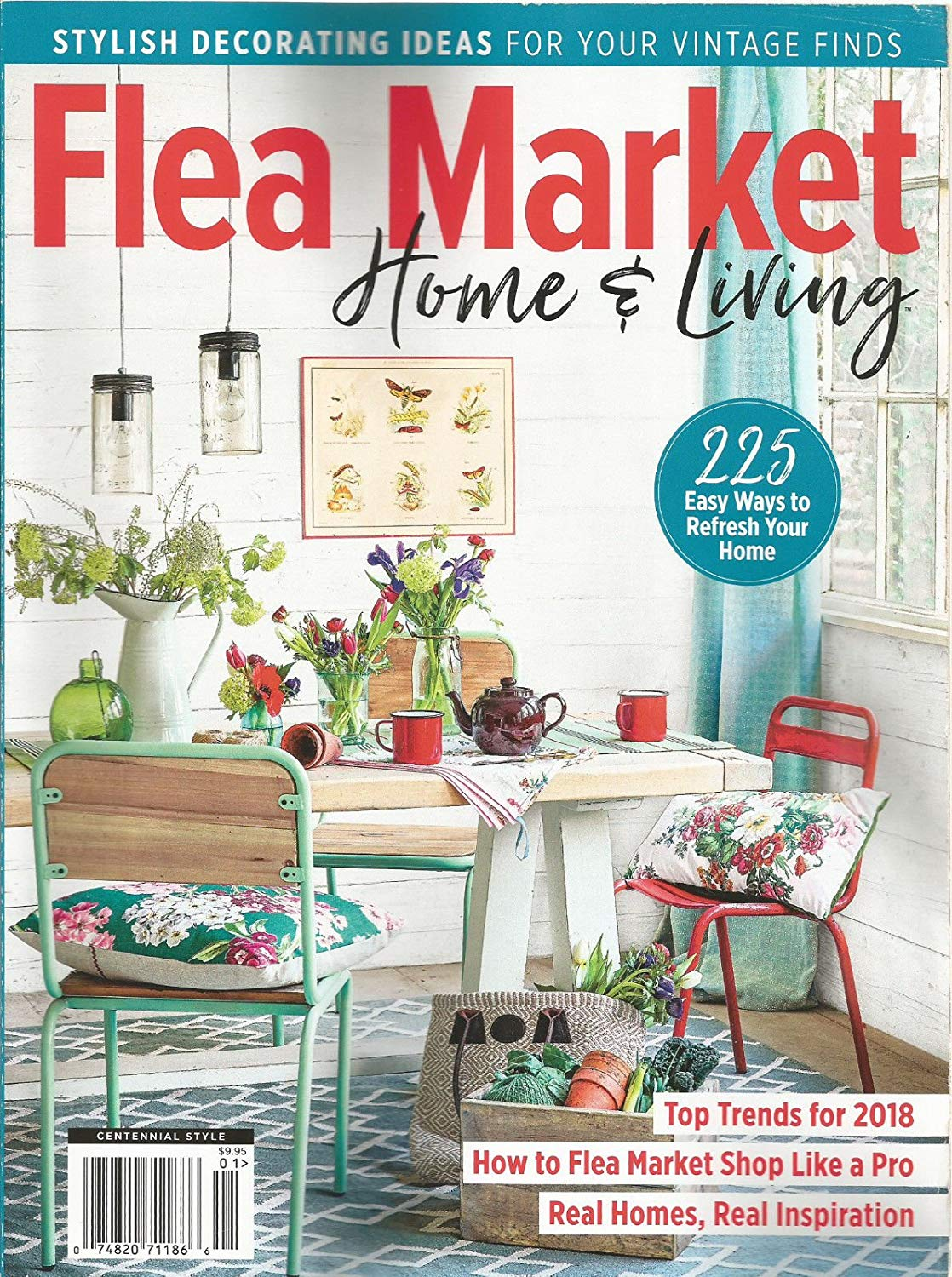 flea market home and living cover