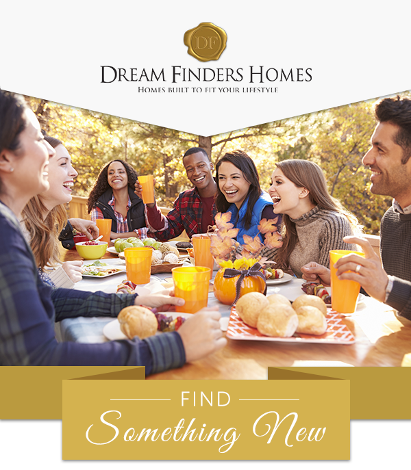 Dream Finders Homes Logo | FIND SOMETHING NEW
