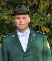 Feldwebel Dominik Wehner (zur Zeit passiv)