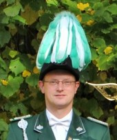 Fahnenoffizier Klaus Winkelhahn