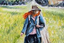La paysanne au foulard rouge ( Vietnam )