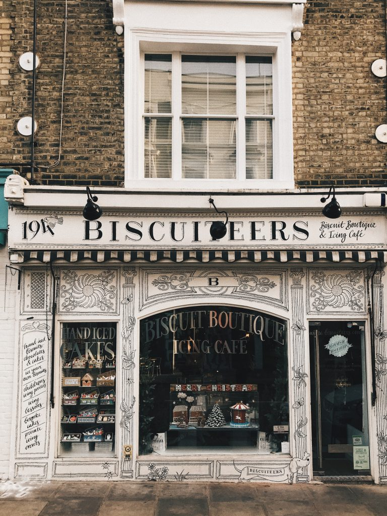 Biscuiteers, dolci a Notting Hill
