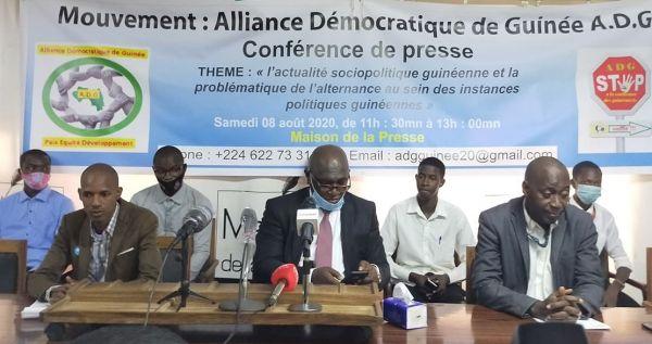 Contre le 3è mandat : L'Alliance démocratique de Guinée voit le jour