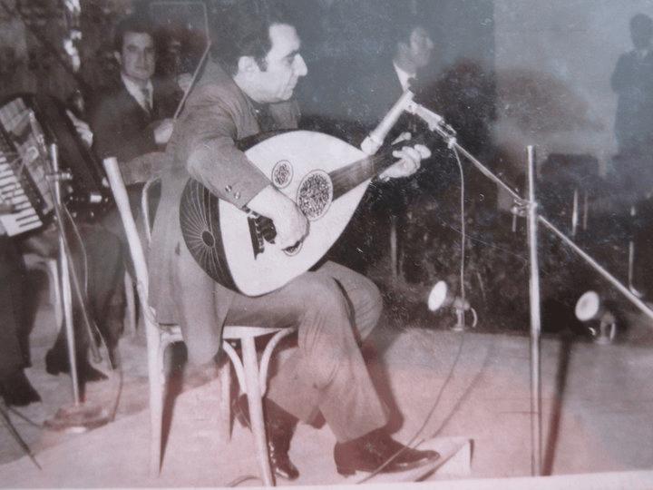 Jamil Bashir with al Razak oud
