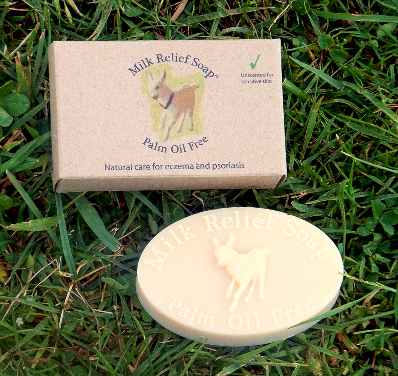 These are not ingredients. Milk Relief Soap with Box