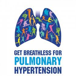 logo get breathless for pulmonary hypertension