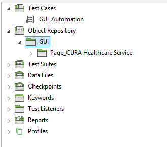 created object repository
