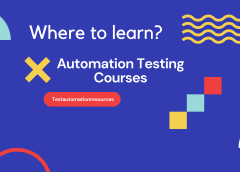 Best place to enroll Automation Software Testing Online Courses
