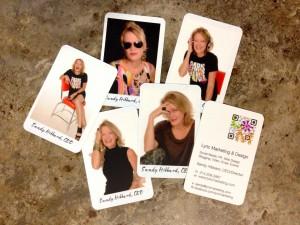 business card designs that pop