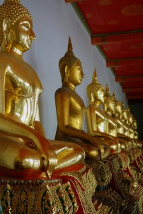 Wat Pho galerie de Bouddhas
