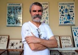 Leon, Nicaragua : Jean-Michel l'entomologiste Belge, installé au Nica depuis 30 ans.