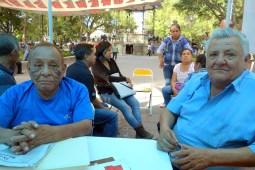 Joaquim et José Luiz militent depuis 8 ans pour l'égalité de tous dans l'état de Oaxaca.