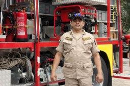 Comayagua, Honduras : Sergent Sierra fier de son tout nouveau camion