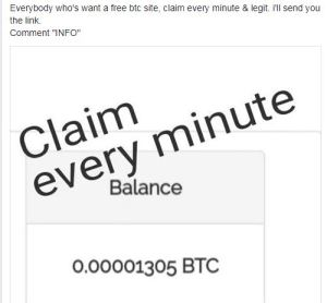 Comment Info on Facebook to earn Bitcoin, Coin - Review, Scam, group