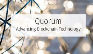 Quorum blockchain