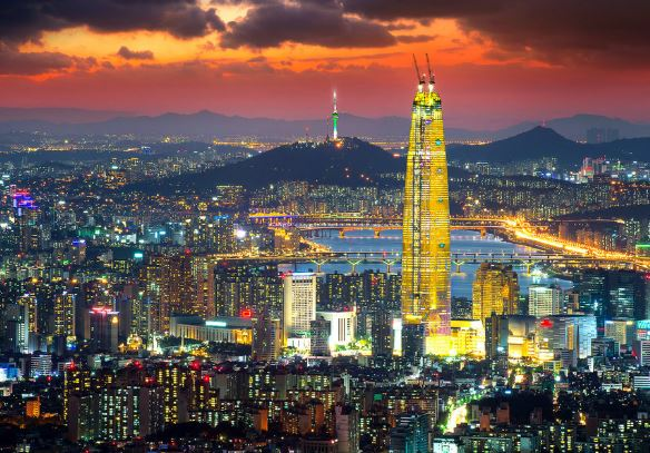 blockchain regions in Seoul
