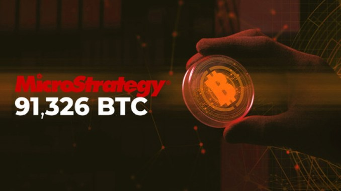 $15 Million Bitcoin Acquired by Microstrategy