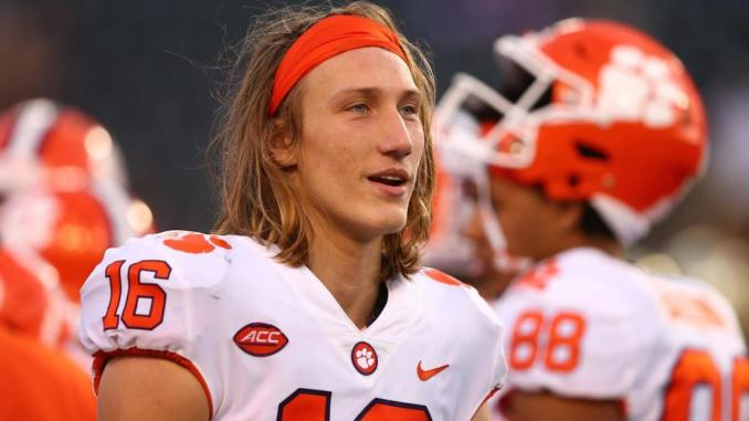 Trevor Lawrence a Top NFL Prospect Signs Deal with Blockfolio
