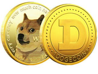 On Reddit Hot DOGE nips at the heels of r/Bitcoin