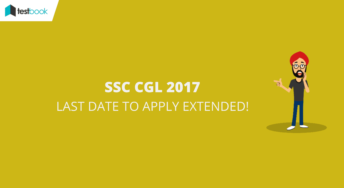 SSC CGL Last Date of Application Extended to 19th June 2017