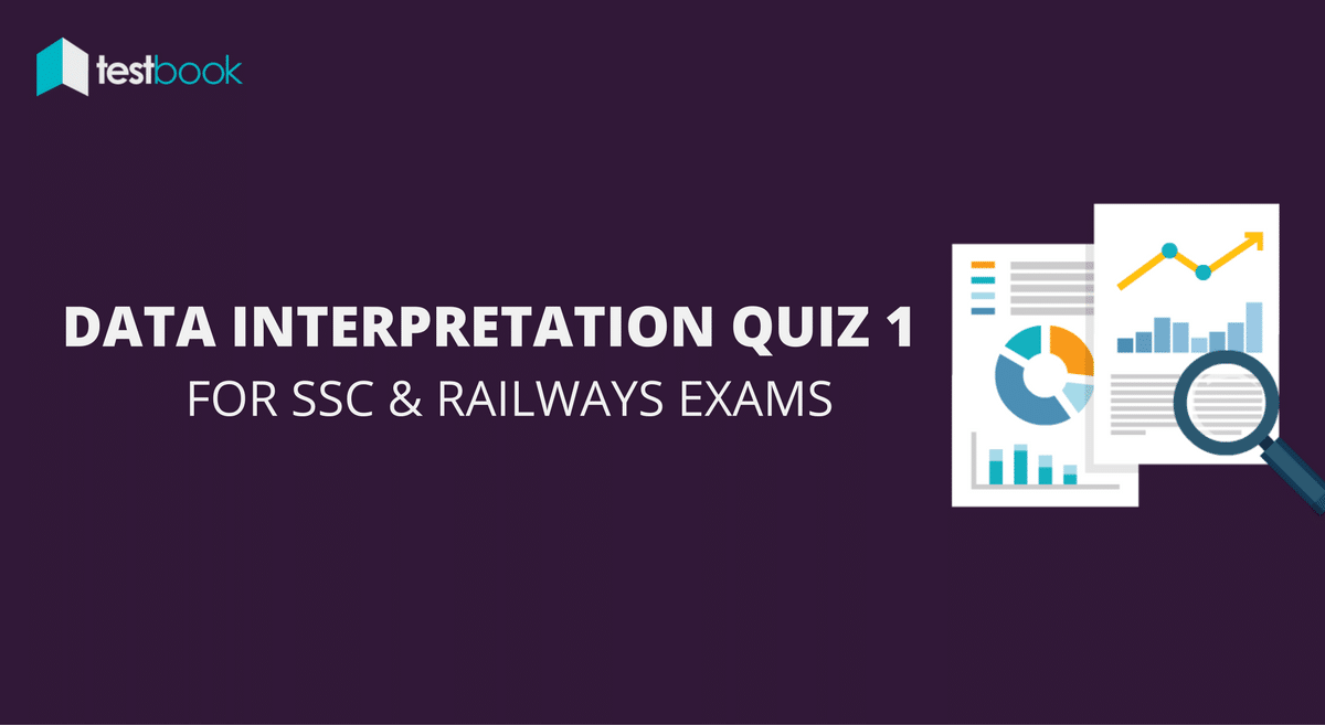 Data Interpretation Quiz 1 for SSC, Railways Exams