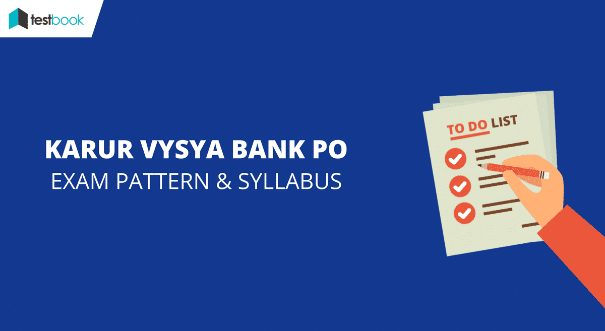 KVB PO Exam Pattern & Detailed Syllabus 2017 - Karur Vysya Bank