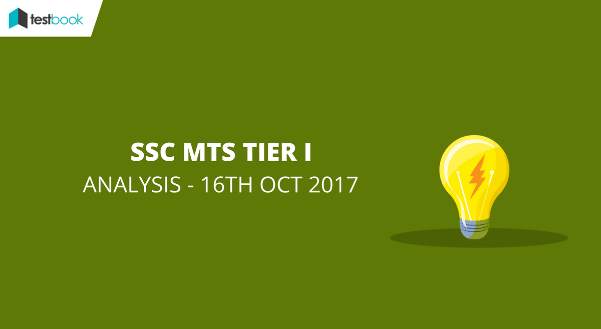 SSC MTS Analysis 16th October 2017