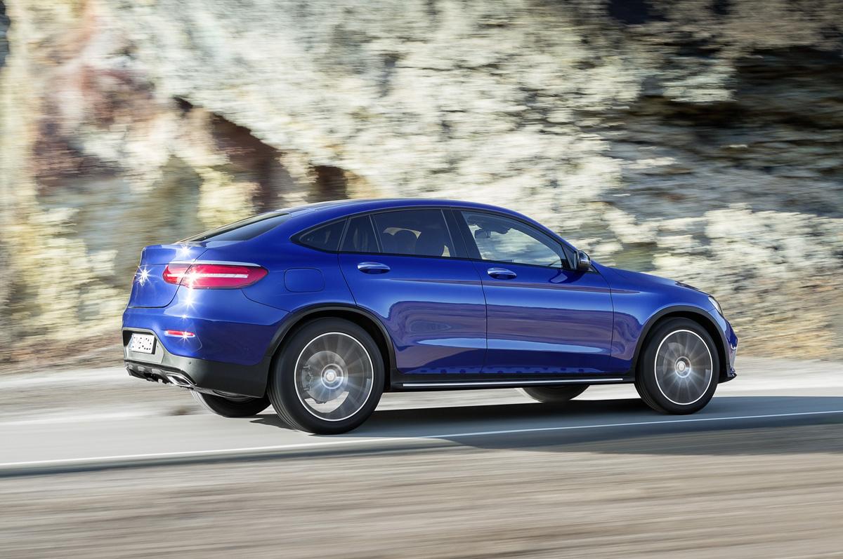 First Look Mercedes Benz GLC Coupe TestDrivenTV