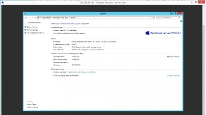Cloud Server - VM running Windows