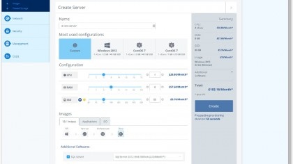 Cloud Server create new VM
